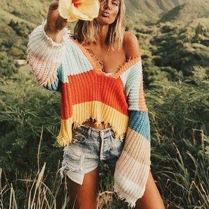 Sweaters - Rainbow sweater